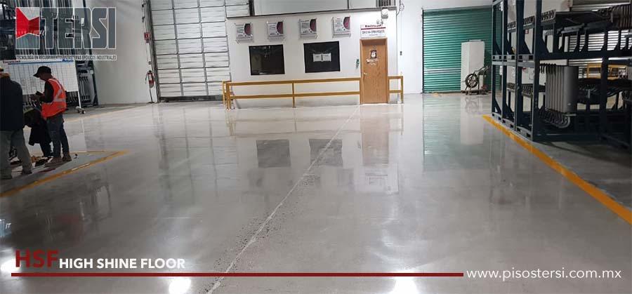 HSF high shine floor queretaro