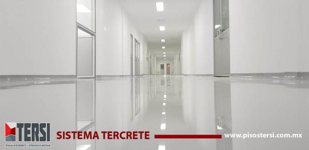 SISTEMA TERCRETE 1 PISO EPOXICO